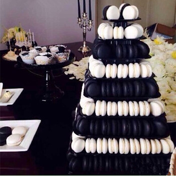 9 tiers Macarons stand