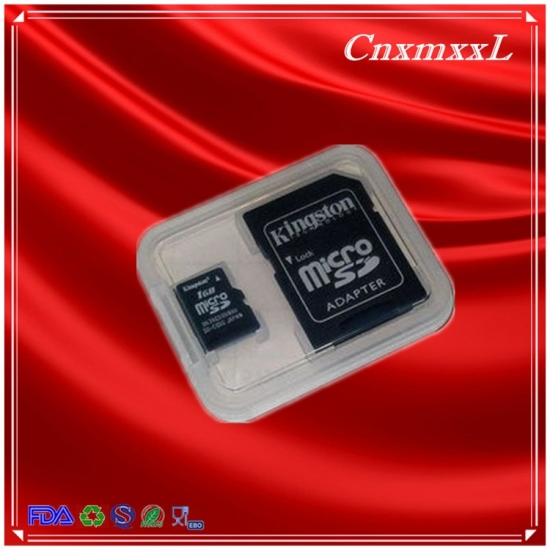 sd card blister plastic packaging
